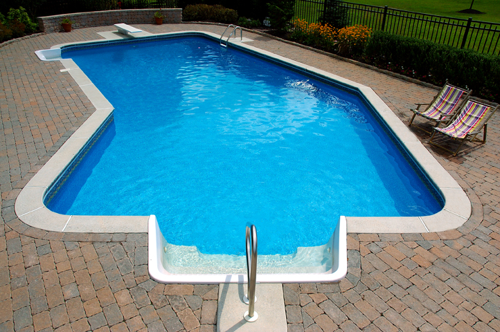 Pool gallery for Grecian pool dimensions